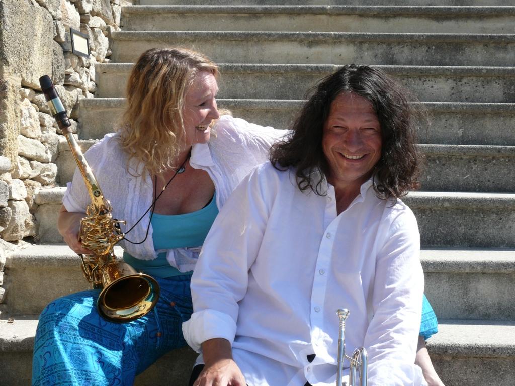 Swingduett duopoli für musikalische Umrahmungen und Konzerte