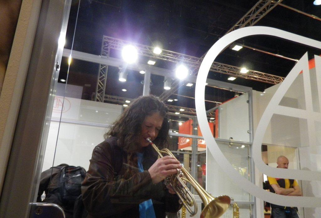 meine Trompete ist die beste
