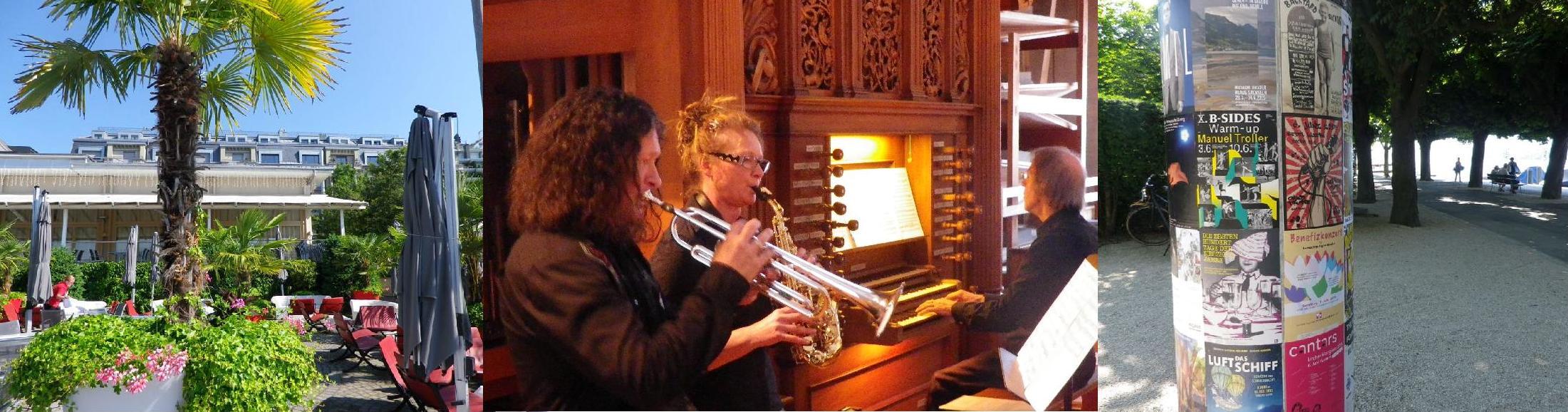 Trompete, Saxophon & Orgel-Konzert in Luzern