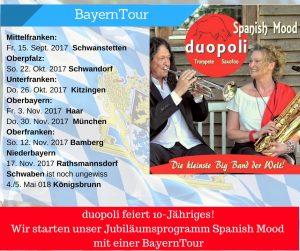 Bayerntour Spanish Mood