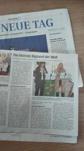 Duo-Konzert der kleinsten Big Band der Welt